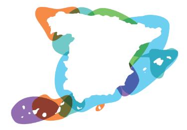 Portada mapa España
