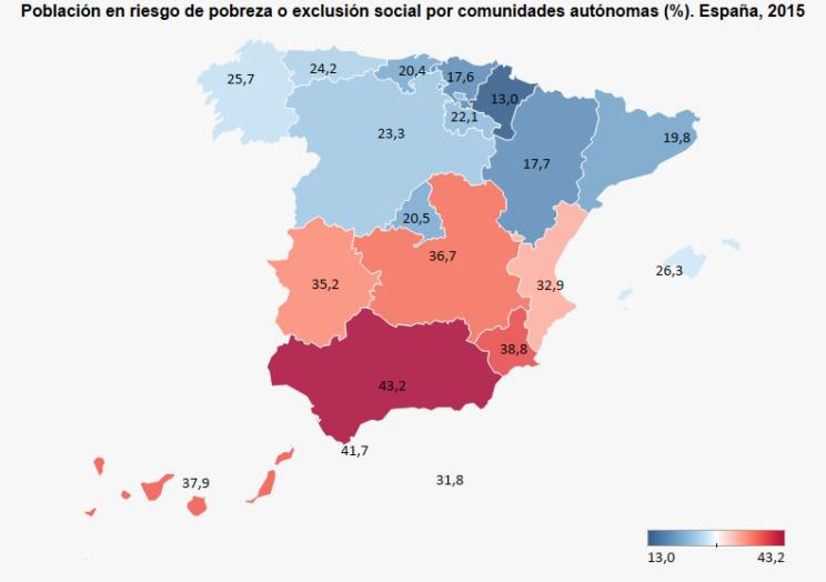 Mapa tasa arope España 2015